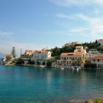 Fiskardo is a beautiful fishing town on the north of Kefalonia